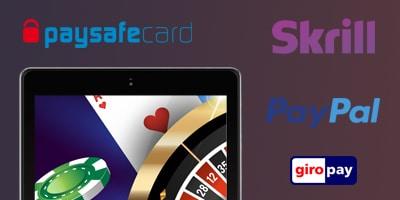 Online Casino Zahlungsmethoden